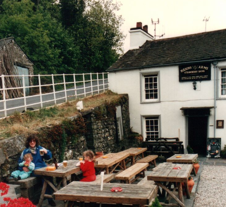 Country pub in 1988