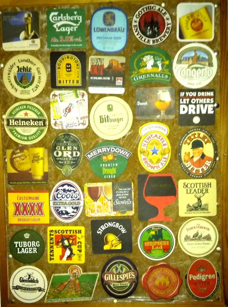 Beermat collection