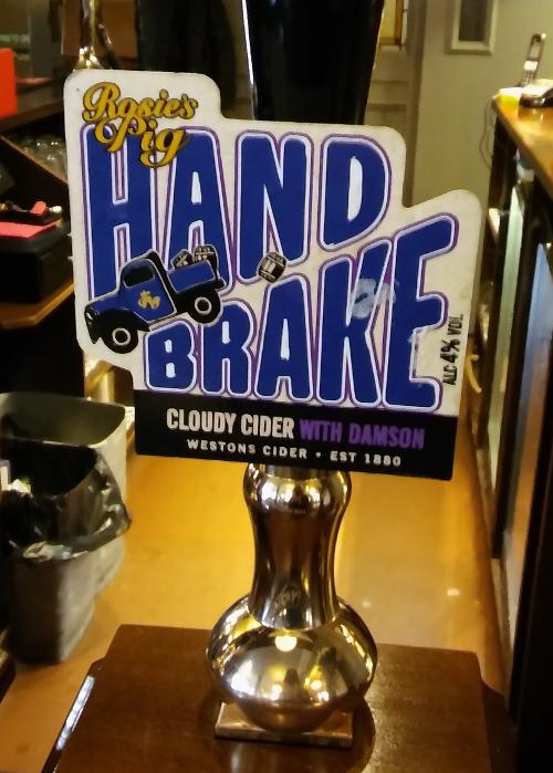 Hand Brake cider logo