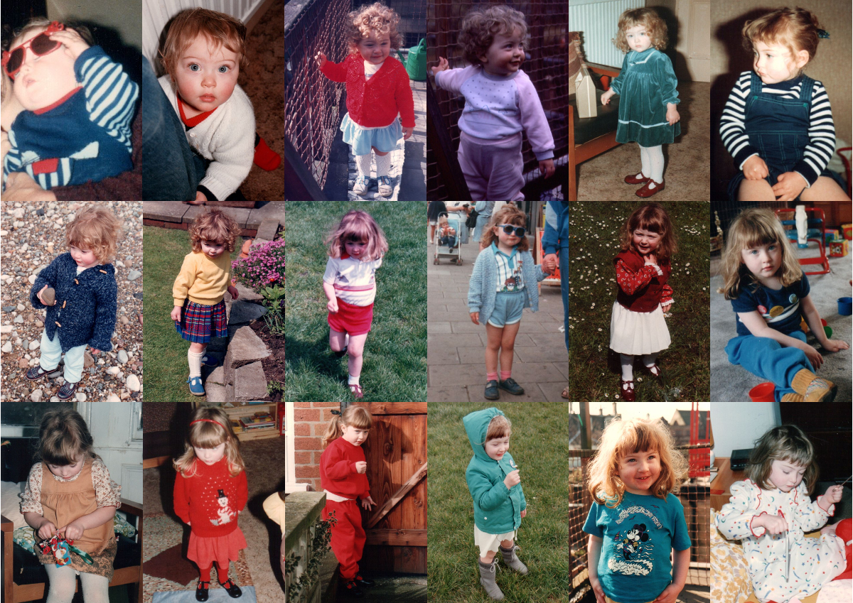 Clothes I wore in the '80s