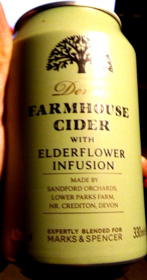 M&S Devon Farmhouse Cider with Elderflower Infusion