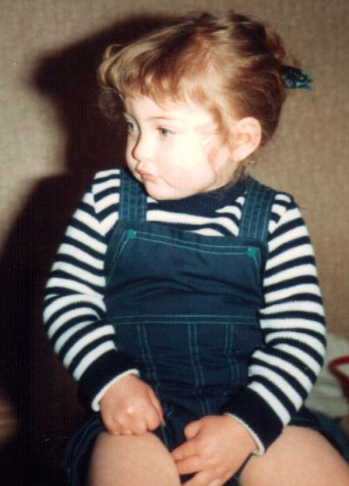 Updo in 1987