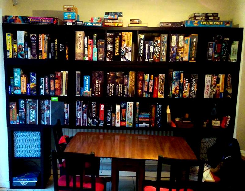Kallax boardgame storage