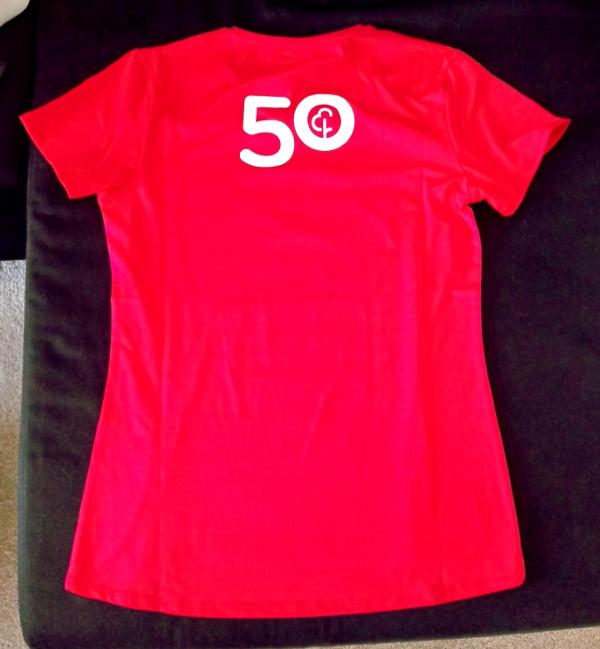 parkrun 50 shirt