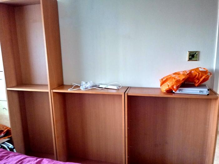 Bookshelf frames