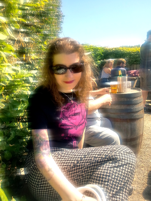 Free Trade Inn beer garden