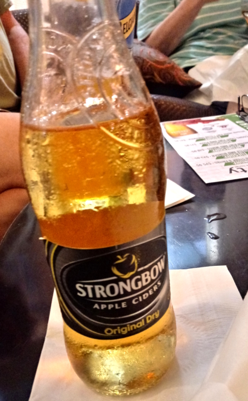 Canadian Strongbow bottle