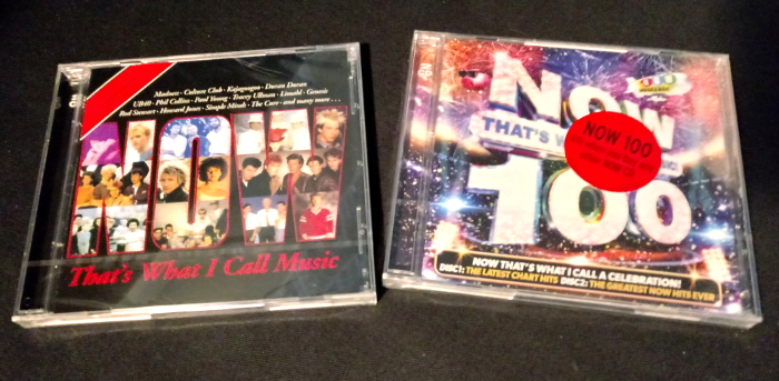 Now! #1 and Now! #100 albums on CD