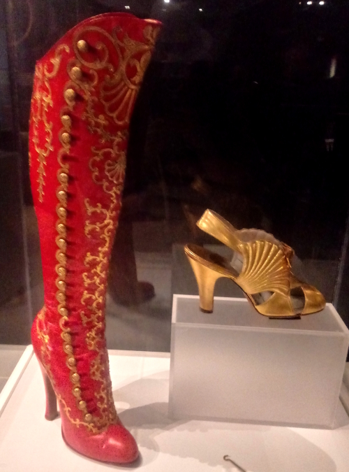 Mid-century shoes at the Bata Shoe Museum