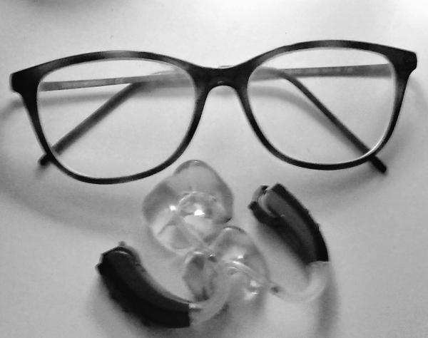Glasses and hearing aids