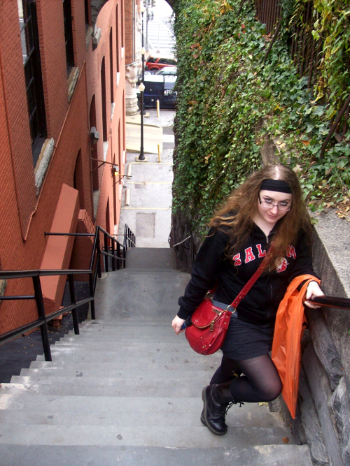 The Exorcist steps, October 2009