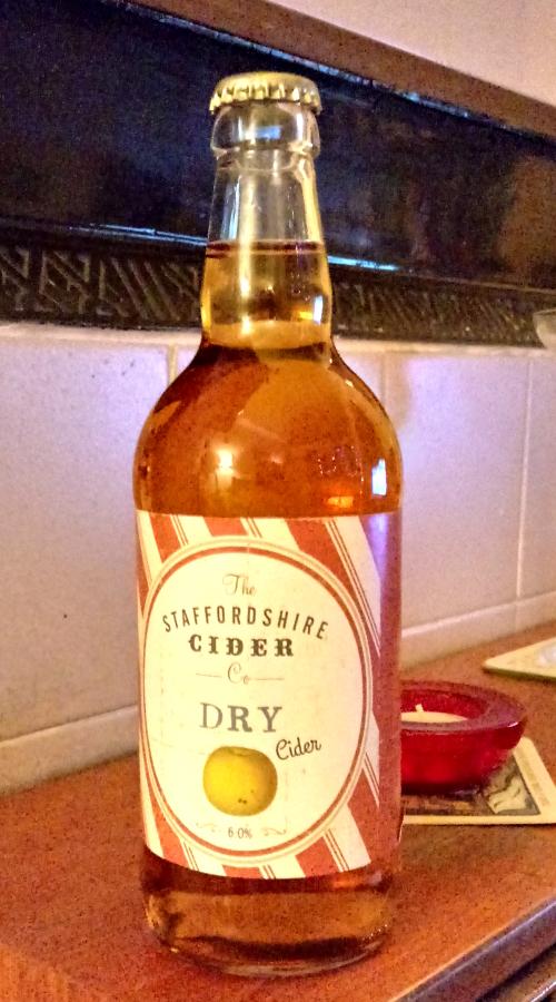 Staffordshire Cider Company Dry Cider