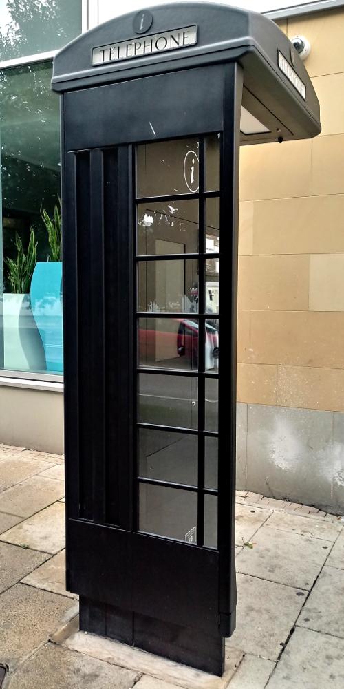 Black phone box