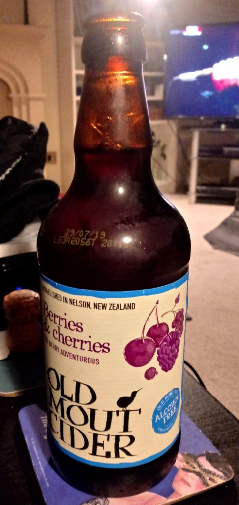 Old Mout Alcohol-Free Berries & Cherries