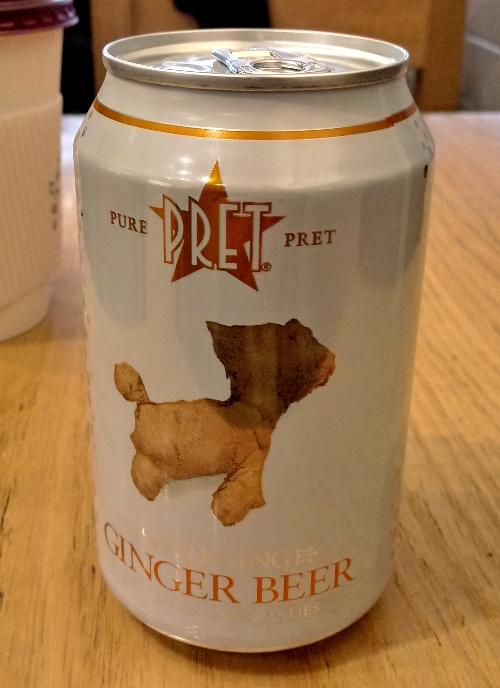 Pret A Manger Ginger Beer