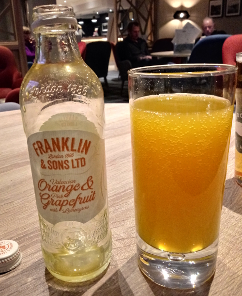 Franklin & Sons Valencian Orange & Pink Grapefruit