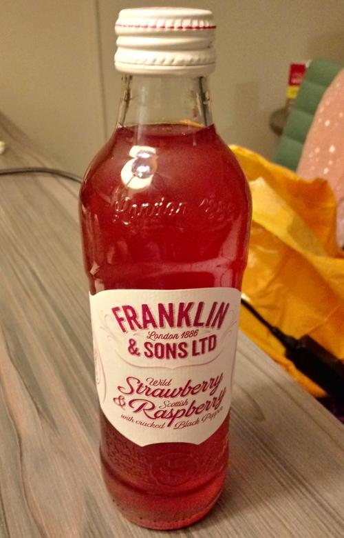 Franklin & Sons Wild Strawberry & Scottish Raspberry