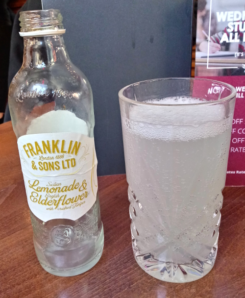 Franklin & Sons Sicilian Lemonade & English Elderflower