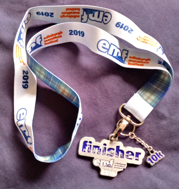 EMF 2019 finisher medal