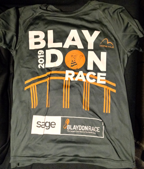 Blaydon Race 2019 t-shirt