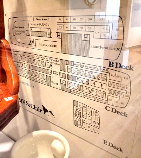 St Clair IV deck plan