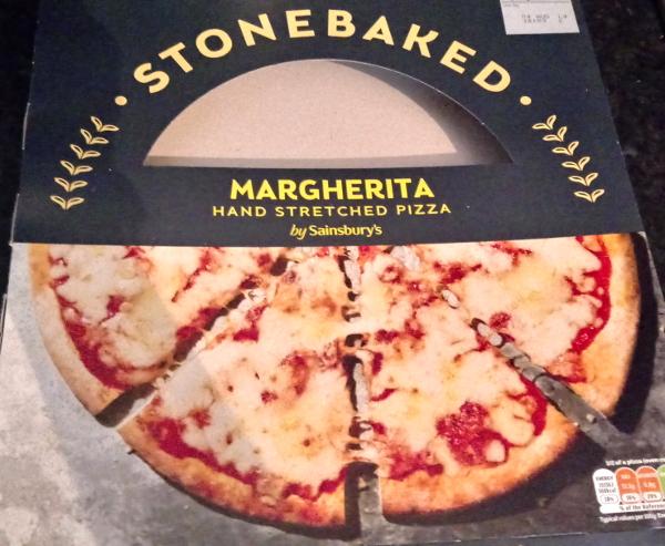 Sainsbury's Stonebaked Margherita