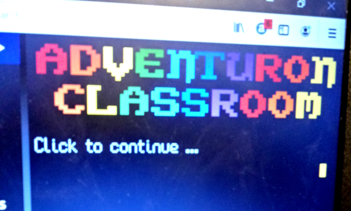 Adventuron Classroom