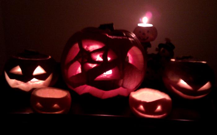 Hallowe'en lanterns