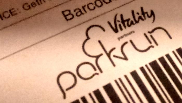 parkrun barcode