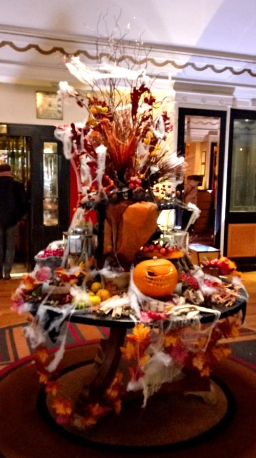 Hallowe'en display