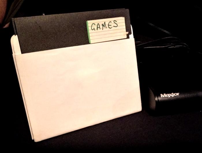 5 1/4 inch floppy disks