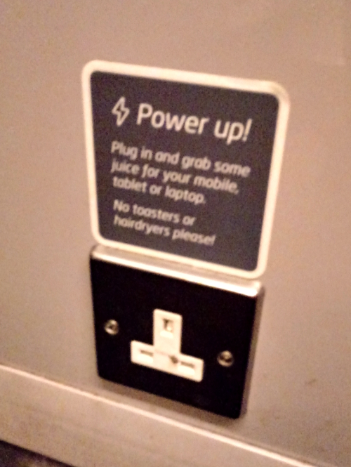 Train plug socket
