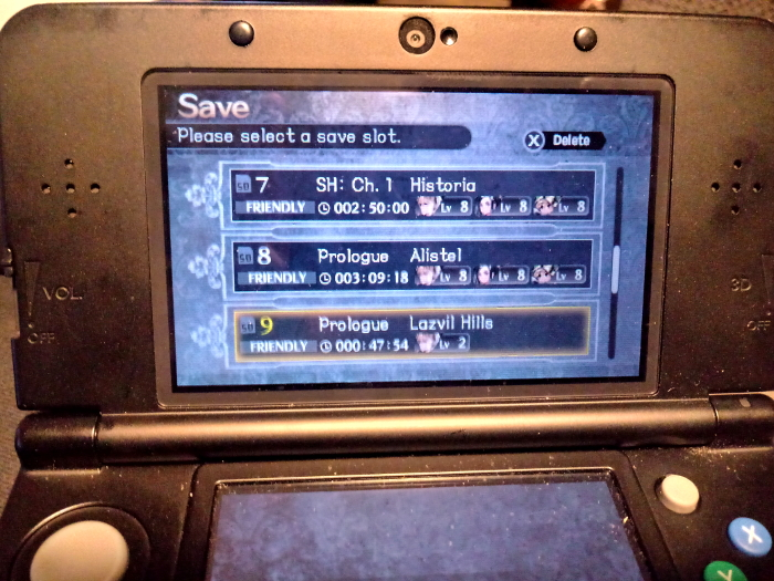 Radiant Historia Perfect Chronology on 3DS