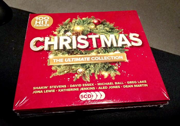 Christmas compilation CD
