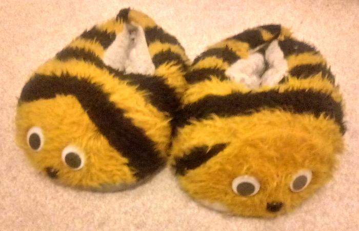 1989 bumblebee slippers