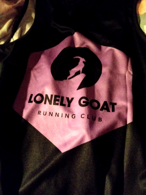 Lonely Goat purple vest top
