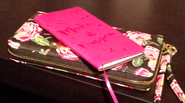 Wallet and diary