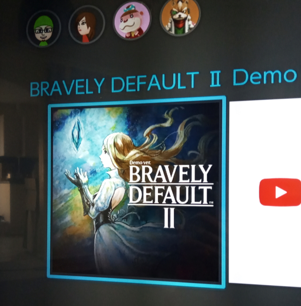 Bravely Default II demo