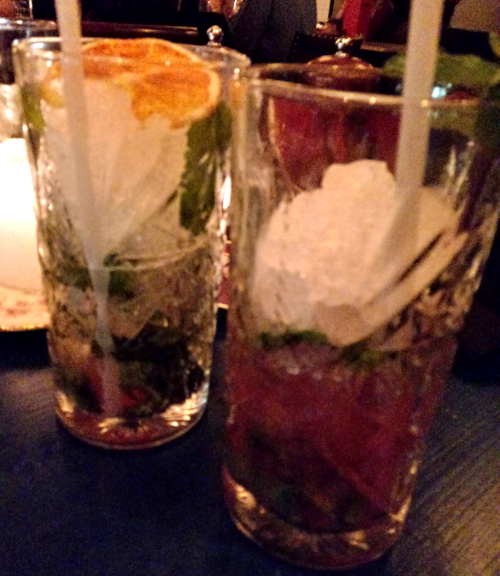 Cosy Club Virgin Blood Orange Mojito