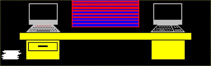 Spectrum-compatible graphic