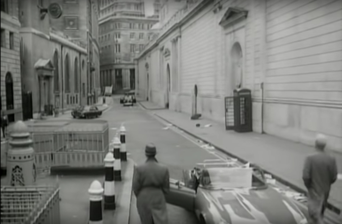 Heaven 17 - 'Let Me Go', filmed on Lothbury, London