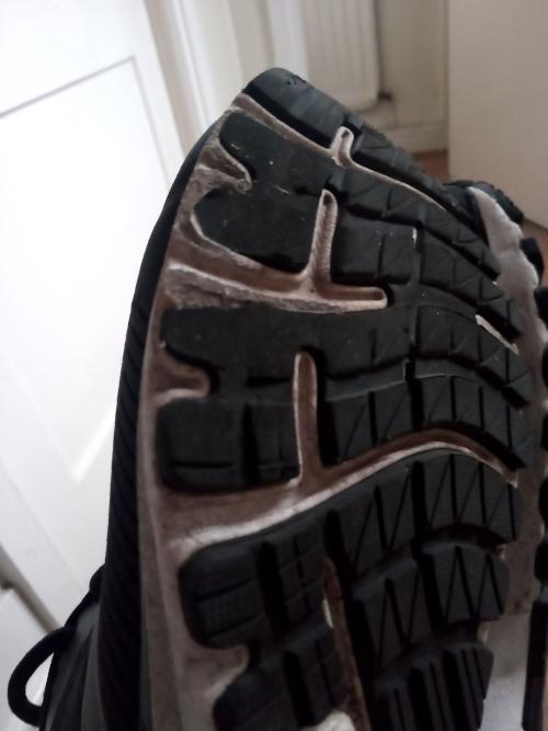 Running shoe wear