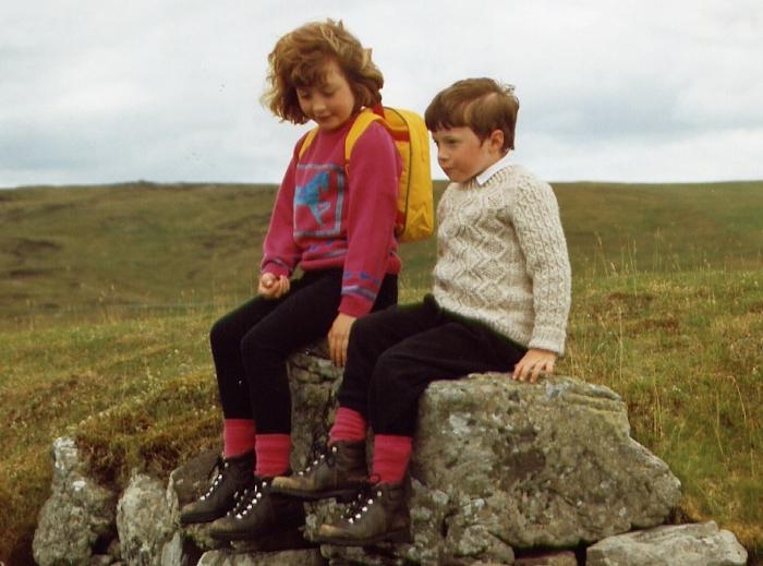Hillwalking break, 1993