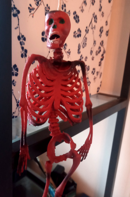 Rubber skeleton