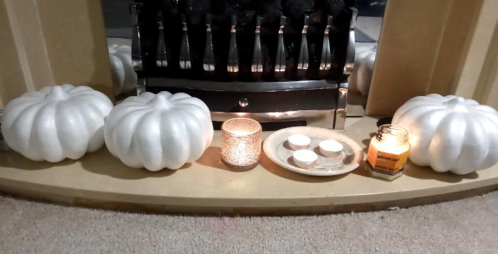 Classy Hallowe'en decorations