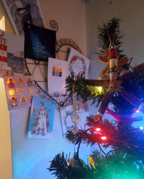 Cards and tree