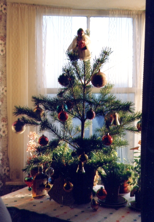 Christmas tree, 1987
