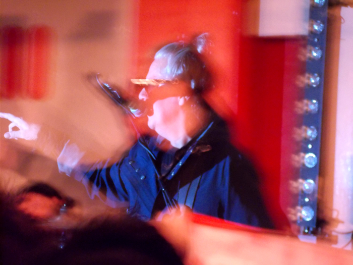 Andy Taylor at the 100 Club, November 2019