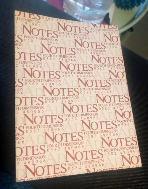 Vintage sticky notes