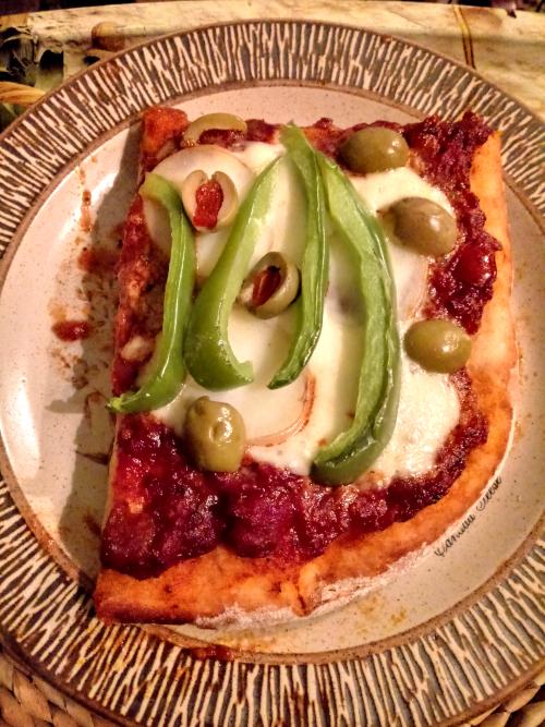 Hogmanay pizza
